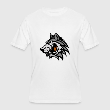 Fear Wolf monster 9 - Men's 50/50 T-Shirt