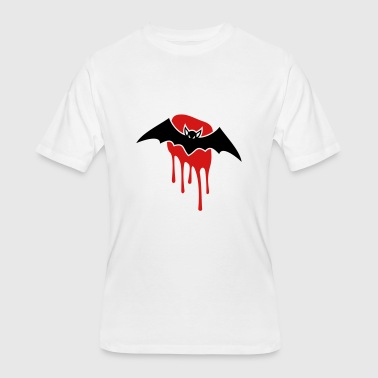 Blood Stains Bat with blood stain - Men's 50/50 T-Shirt