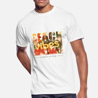 beach vibes street style - Men's 50/50 T-Shirt