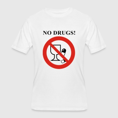 No Drugs - Men's 50/50 T-Shirt