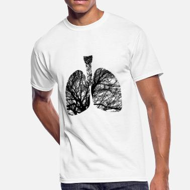 Breathe Lungs lungs - Men's 50/50 T-Shirt