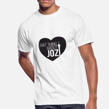 Zar THAT THING ABOUT JOZI - Men's 50/50 T-Shirt