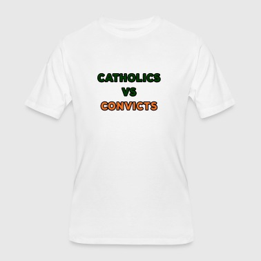 Catholics VS Convicts - Men's 50/50 T-Shirt