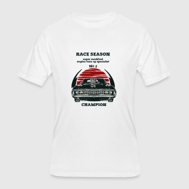 CAR DESIGN RACE SEASON - Men's 50/50 T-Shirt