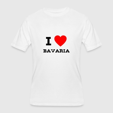 i love bavaria - Men's 50/50 T-Shirt