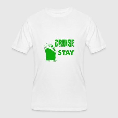 Cruise Funny Couple Couples Cruise Together Shirt - Men's 50/50 T-Shirt