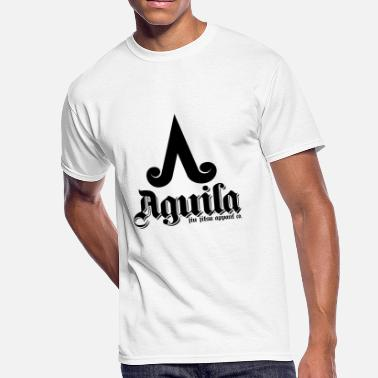 Latino AGUILA JIU JITSU SHIRT - LOGO - Men's 50/50 T-Shirt