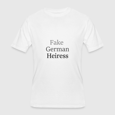 Fake German Heiress T-Shirt - Men's 50/50 T-Shirt