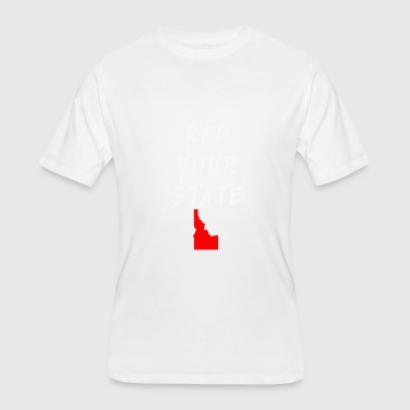 Rep Your State REP YOUR STATE IDAHO - Men's 50/50 T-Shirt