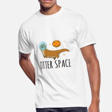 In Otter Space Otter Space Funny Otter Shirt - Men's 50/50 T-Shirt