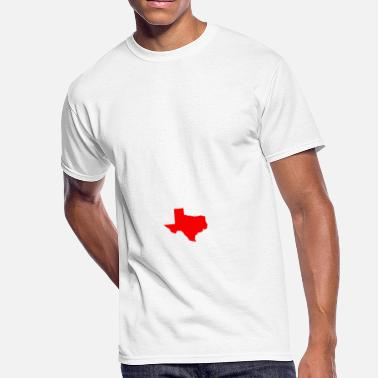 2 Rep REP YOUR STATE TEXAS 2 - Men's 50/50 T-Shirt