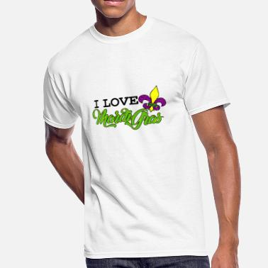 Celebrate Love Parade I Love Mardi Gras Parade for Men Women Kids Cute - Men's 50/50 T-Shirt