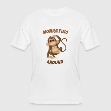 Around monkeying around - Men's 50/50 T-Shirt
