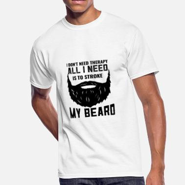 Design Humor Bearded Humor Designs - Men's 50/50 T-Shirt