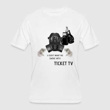 SMOKE TTV BOXING LOGO - Men's 50/50 T-Shirt