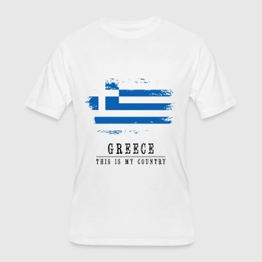 Flag-of-greece-countries-flags GREECE FLAG - THIS IS MY COUNTRY - Men's 50/50 T-Shirt