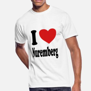 Nuremberg I love Nuremberg (variable colors!) - Men's 50/50 T-Shirt