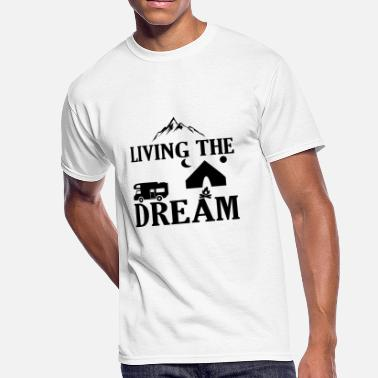 Livin The Dream Livin The Dream - Men's 50/50 T-Shirt