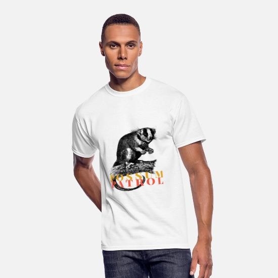 Nature T-Shirts - possum patrol - Men's 50/50 T-Shirt white
