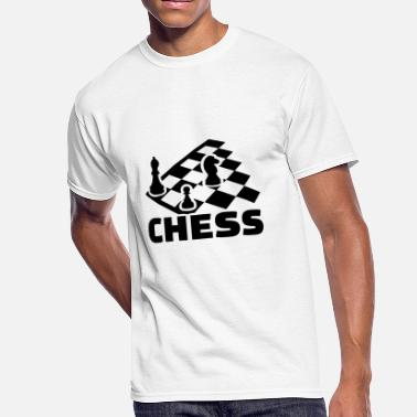 Chess Board Check chess boards - Men's 50/50 T-Shirt