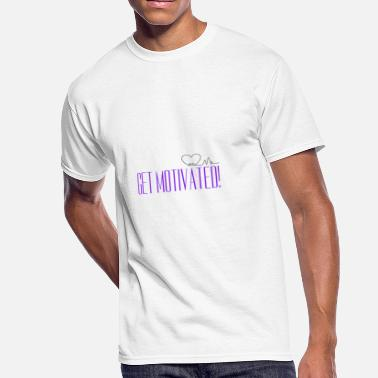Apologetics Get Motivated Trans - Men's 50/50 T-Shirt