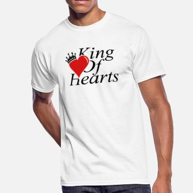 Heart King KING OF HEARTS - Men's 50/50 T-Shirt