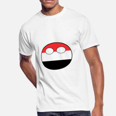 Jemen Countryball Laenderball Land Heimat Jemen - Men's 50/50 T-Shirt