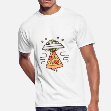 Ufo Pizza UFO - Men's 50/50 T-Shirt
