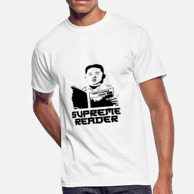 Supreme Leader Supreme Reader - Men's 50/50 T-Shirt