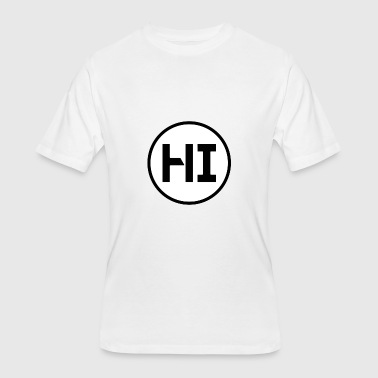 Hazy Hazy Images - Men's 50/50 T-Shirt