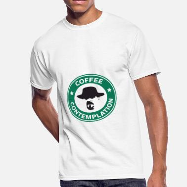 Coffee And Contemplation Coffee Contemplation - Men's 50/50 T-Shirt