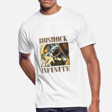 Bioshock Infinite Bioshock infinite cool bird T Shirt - Men's 50/50 T-Shirt