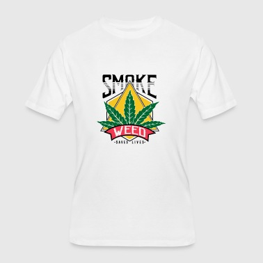 Herb Cannabis Cannabis Medical Herb V - Men's 50/50 T-Shirt