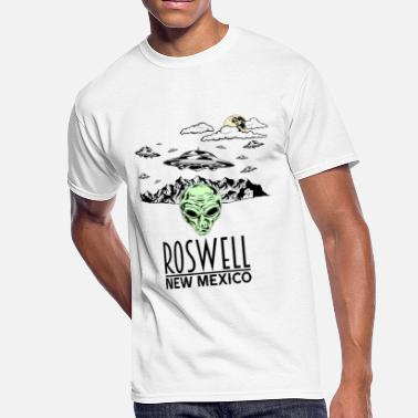 86d5fbf2 Roswell New Mexico Roswell New Mexico Alien Conspiracy UFO - Men's 50
