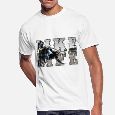 Bike Life bike life phototext scratch desing - Men's 50/50 T-Shirt