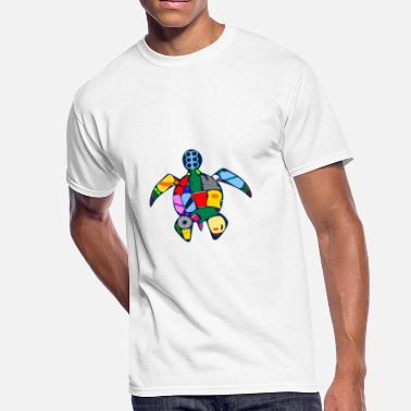 Plastic Plastic Turtle - Men's 50/50 T-Shirt