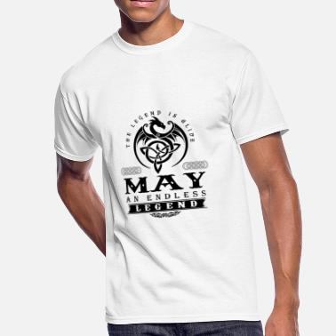 May Beetle MAY - Men's 50/50 T-Shirt