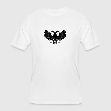 Heraldry Bird - Men's 50/50 T-Shirt