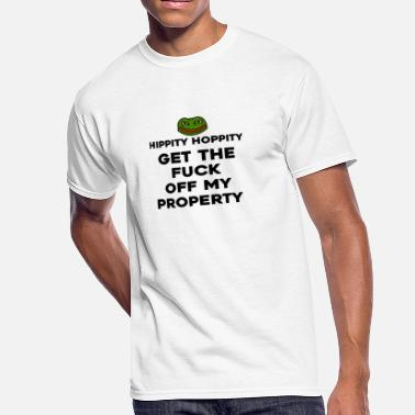 Private hippity hoppity abolish private property - Men's 50/50 T-Shirt