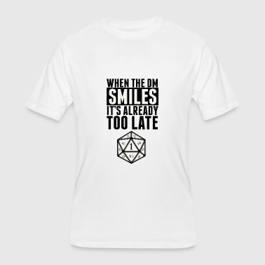DM smiles - Men's 50/50 T-Shirt