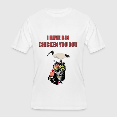 Bin chicken - Men's 50/50 T-Shirt
