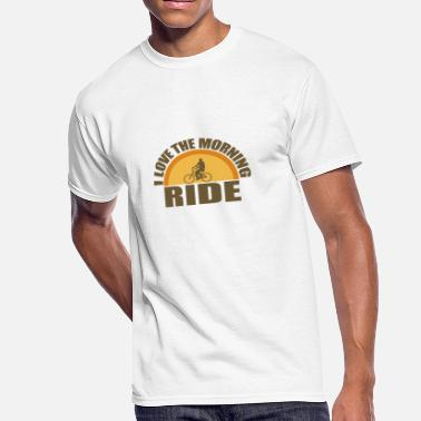 Morning Ride Morning Ride - Men's 50/50 T-Shirt