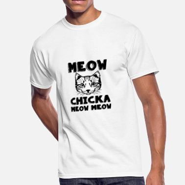 MEOW chicka meow - Men's 50/50 T-Shirt