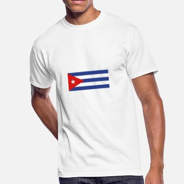 Salsa Cuba National Flag Of Cuba - Men's 50/50 T-Shirt