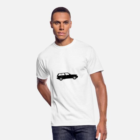 Symbol  T-Shirts - Sports Utility Vehicle - Men's 50/50 T-Shirt white