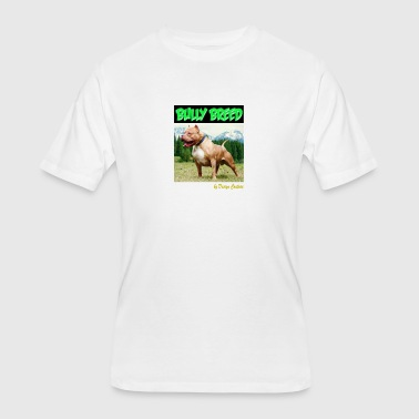 BULLY BREED GREEN - Men's 50/50 T-Shirt