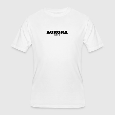 ILLINOIS AURORA US EDITION - Men's 50/50 T-Shirt