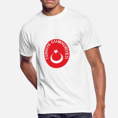 National Emblem National Emblem Of Turkey - Men's 50/50 T-Shirt