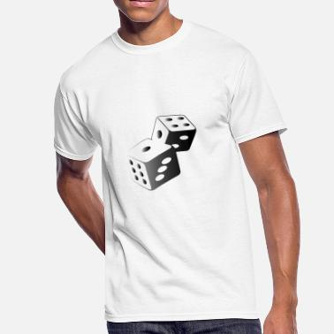 Dice Casino Two Dice At The Casino - Men's 50/50 T-Shirt