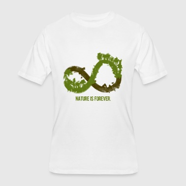 nature is forever infinity tree - Men's 50/50 T-Shirt